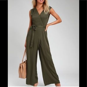 NWT Olive Jumpsuit ADORABLE!!!!